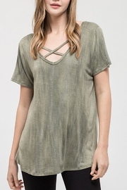 Blu Pepper Westwood Olive Tee - Product Mini Image
