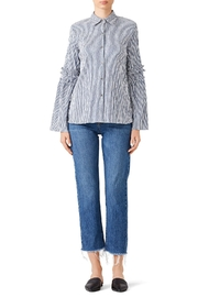 Waverly Grey Wg Button Down - Front cropped