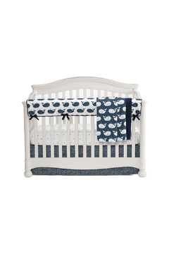 Liz and Roo Whale Baby Blanket - Alternate List Image