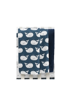 Liz and Roo Whale Baby Blanket - Product List Image