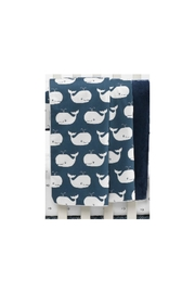 Liz and Roo Whale Baby Blanket - Product Mini Image