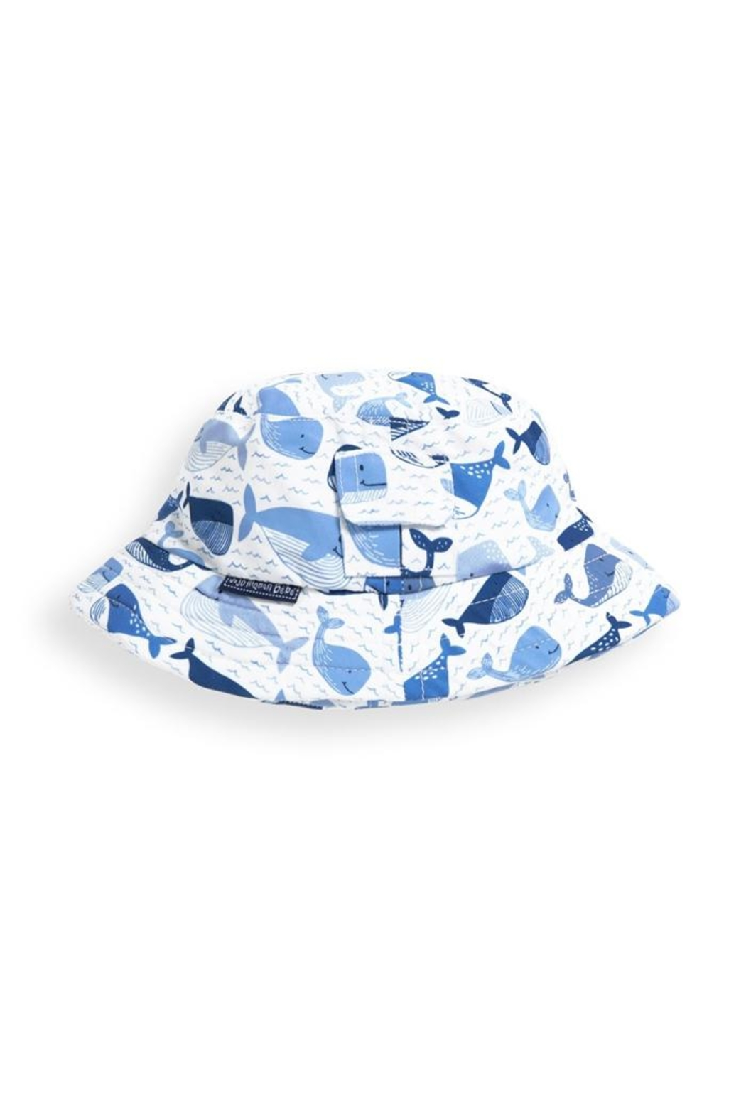 JoJo Maman Bebe Whale Bucket Hat - Front Cropped Image