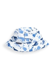 JoJo Maman Bebe Whale Bucket Hat - Front cropped