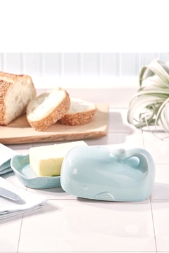 Two's Company Whale Butter Dish - Alternate List Image