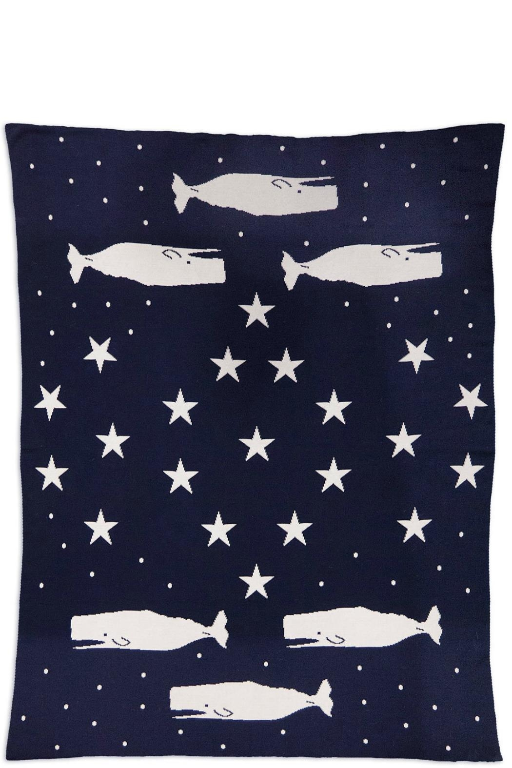Chandler 4 Corners Whale Reversible Throw - Main Image