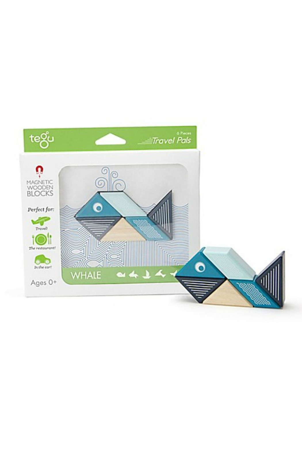 Tegu Whale Travel Pal - Front Cropped Image