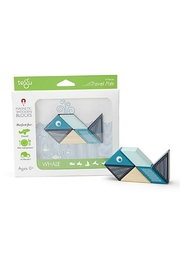Tegu Whale Travel Pal - Front cropped