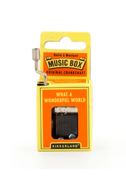Kikkerland Design What A Wonderful World Music Box - Product Mini Image