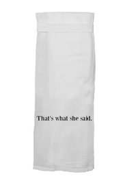 Twisted Wares What She Said - Product Mini Image
