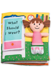 Melissa and Doug What Should I Wear Soft Book - Product Mini Image