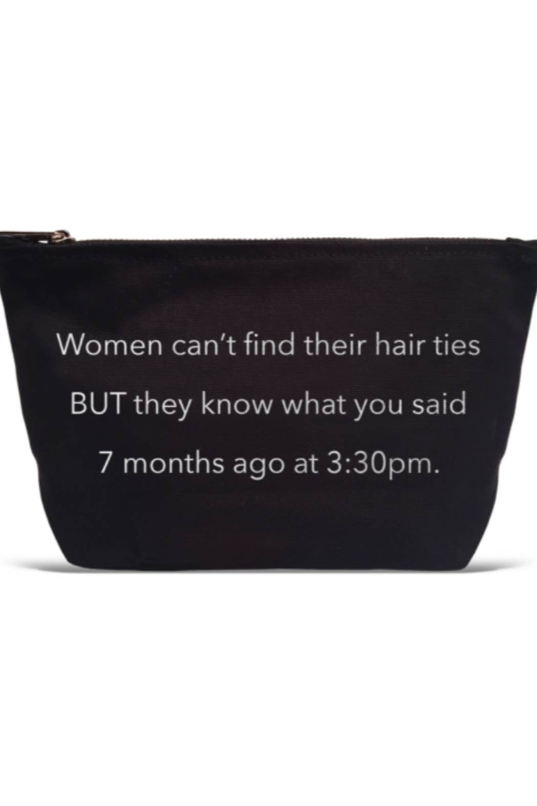 LA Trading Co What Tha Quote Pouch Hair Ties - Main Image