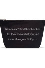 LA Trading Co What Tha Quote Pouch Hair Ties - Product Mini Image