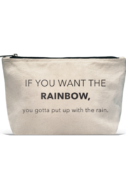LA Trading Co What Tha Quote Pouch rainbow - Product Mini Image