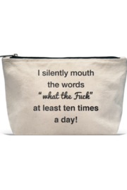 LA Trading Co What Tha Quote Pouch WTF - Product Mini Image