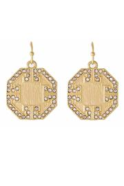What She Wants Gold Coin Earring - Product Mini Image