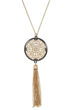 What She Wants Mixed Metal Necklace - Product List Image