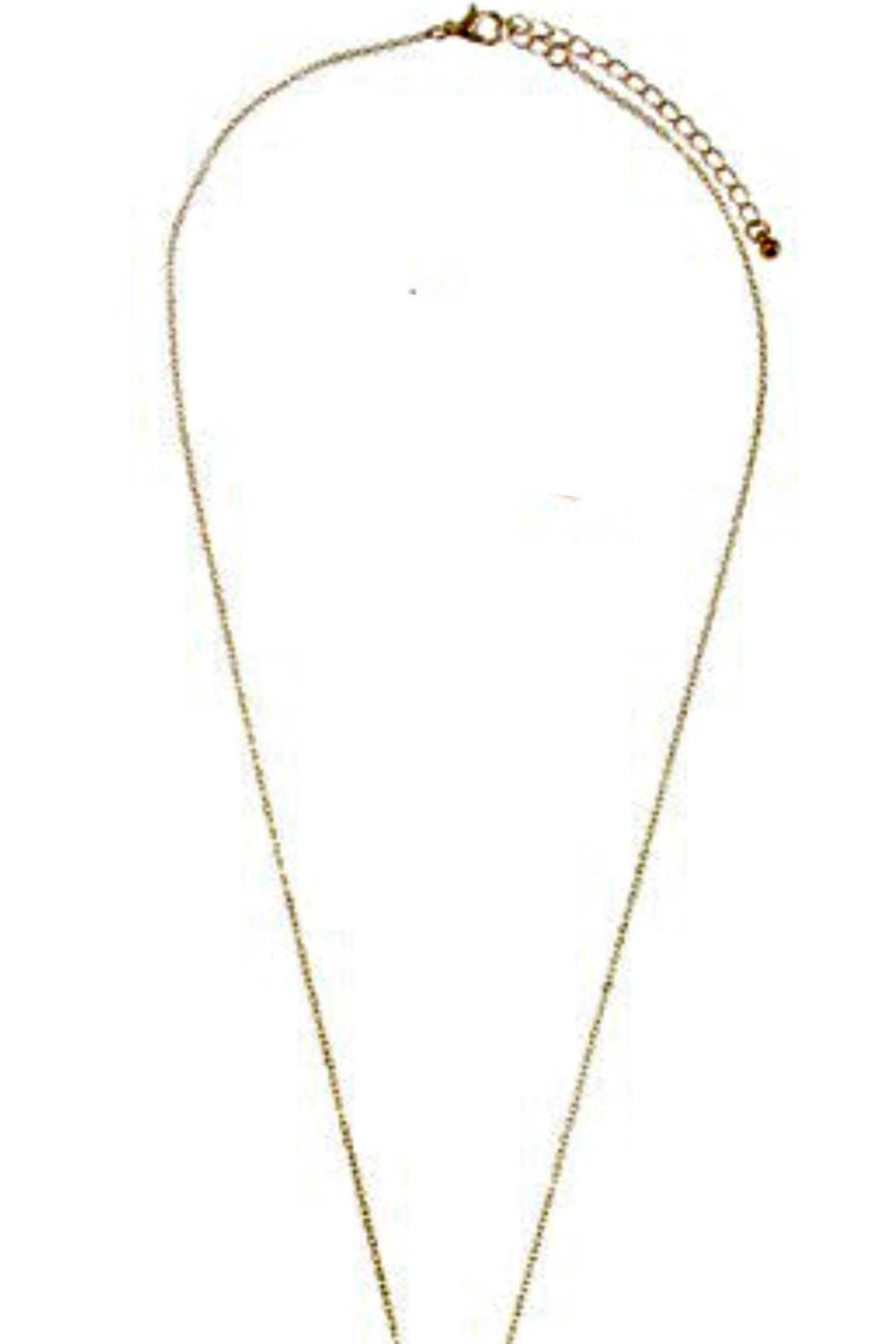 What She Wants Mixed Metal Necklace - Front Full Image