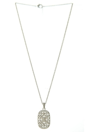What She Wants Sentimental Pendant Necklace - Front cropped