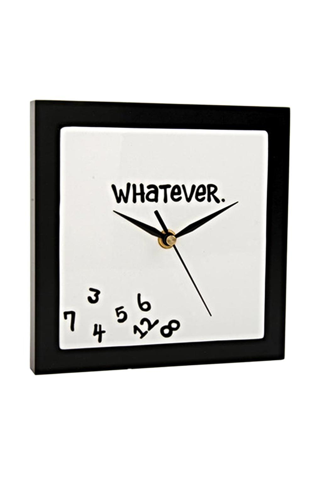 Expressions Whatever Clock - Front Full Image