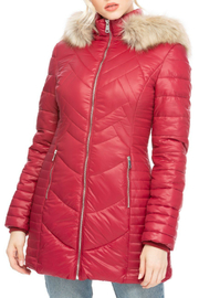 Coalition Whats the stitch hooded coat - Product Mini Image