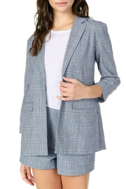 Cupcakes and Cashmere Wheeler Plaid Boyfriend - Front full body