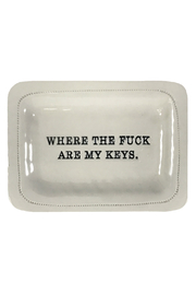 Honestly. Where Are My Keys Dish - Product Mini Image