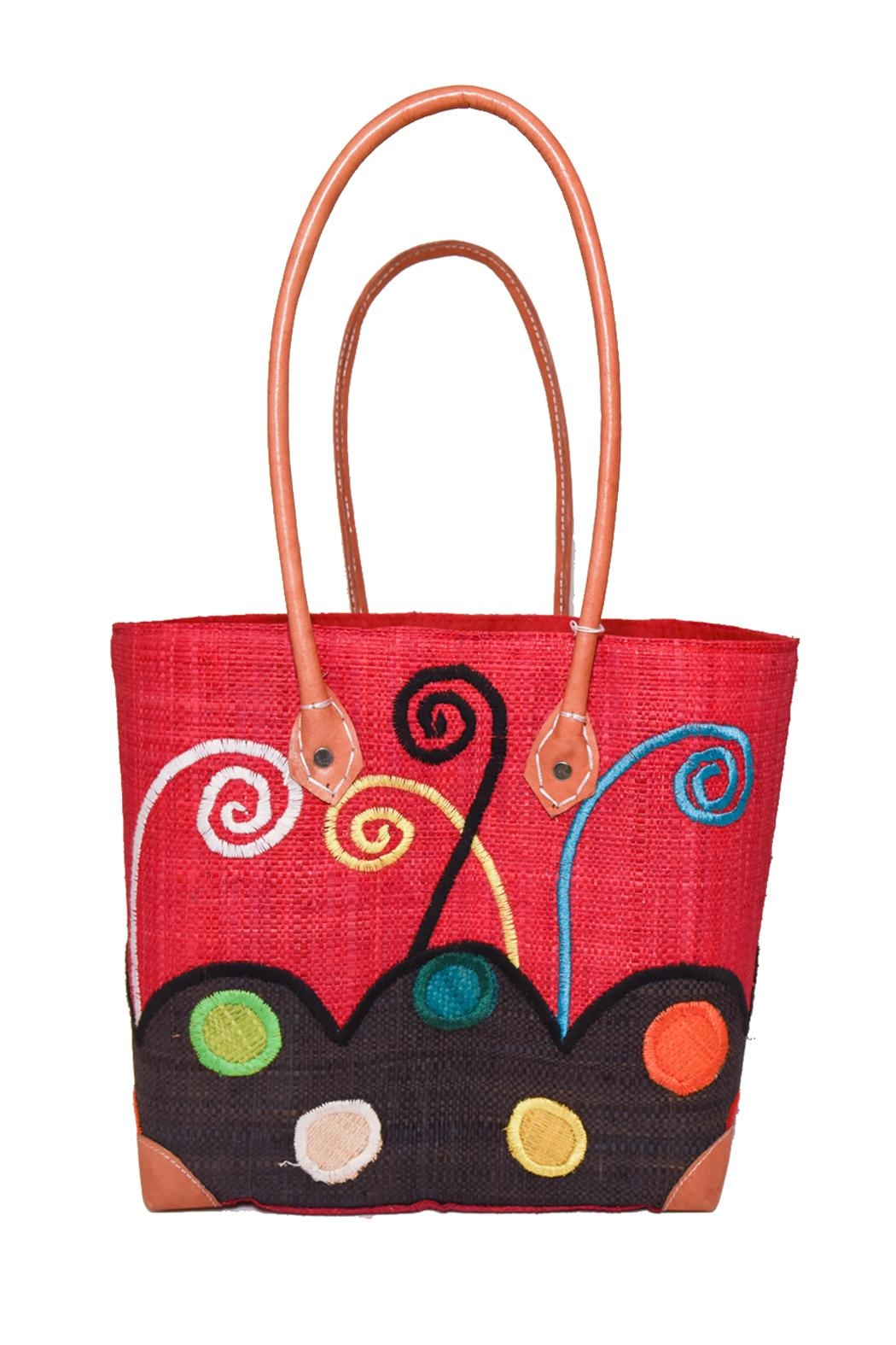 Purseonality Whimsical Beach Tote - Main Image