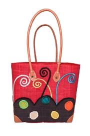 Purseonality Whimsical Beach Tote - Front cropped
