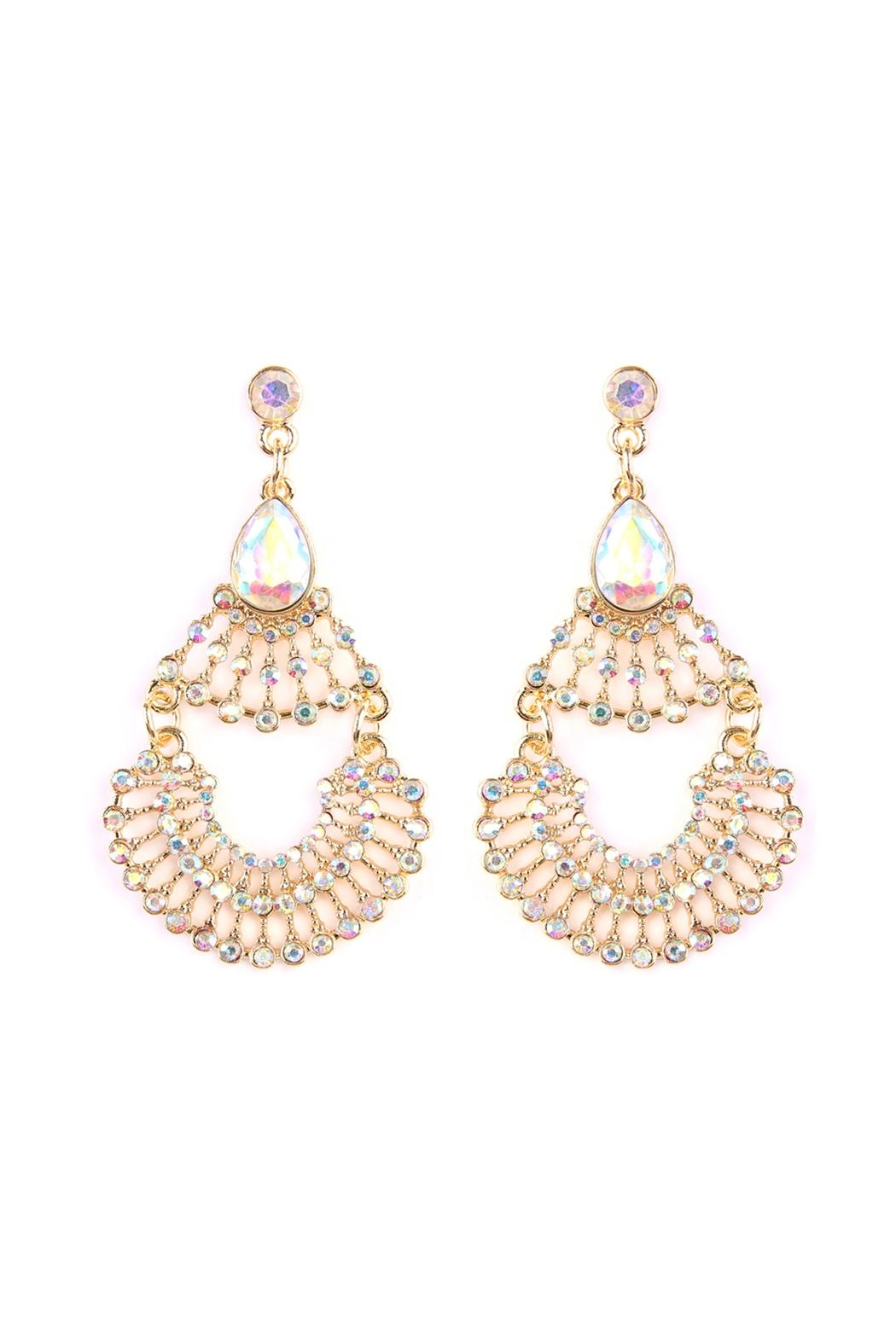Riah Fashion Whimsical Dangle Earring Collection Front Cropped Image