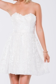 Jovani Whimsical Lace Dress - Product Mini Image
