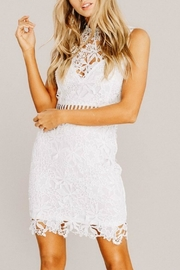 Pretty Little Things Whimsical Lace Dress - Product Mini Image