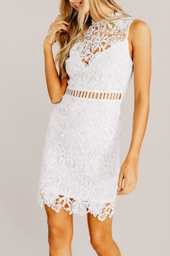 Pretty Little Things Whimsical Lace Dress - Product List Image