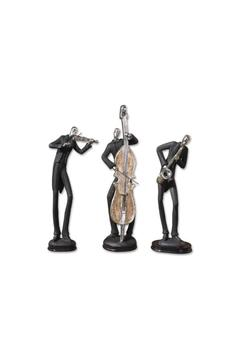Whimsical Musician Statues - Product List Image