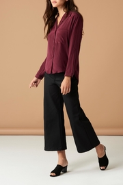Whimsy and Row Maroon Button Up - Product Mini Image