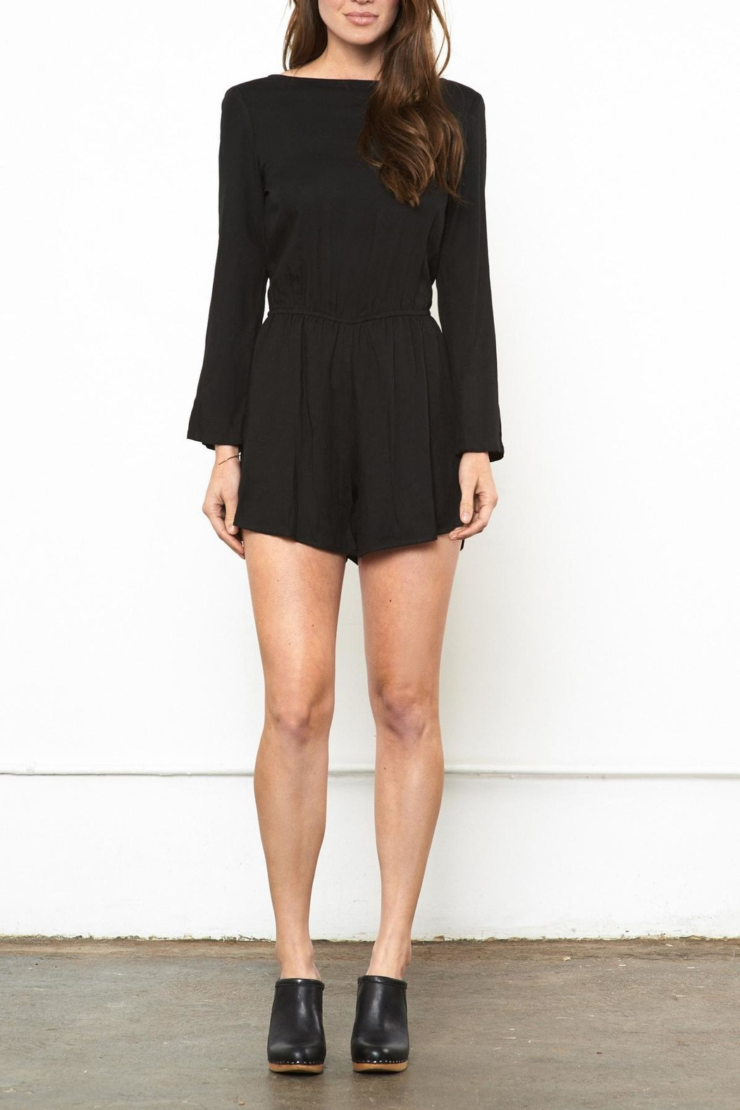Whimsy and Row Nantucket Night Romper - Front Full Image