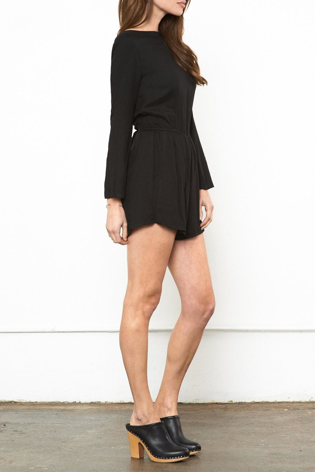 Whimsy and Row Nantucket Night Romper - Side Cropped Image