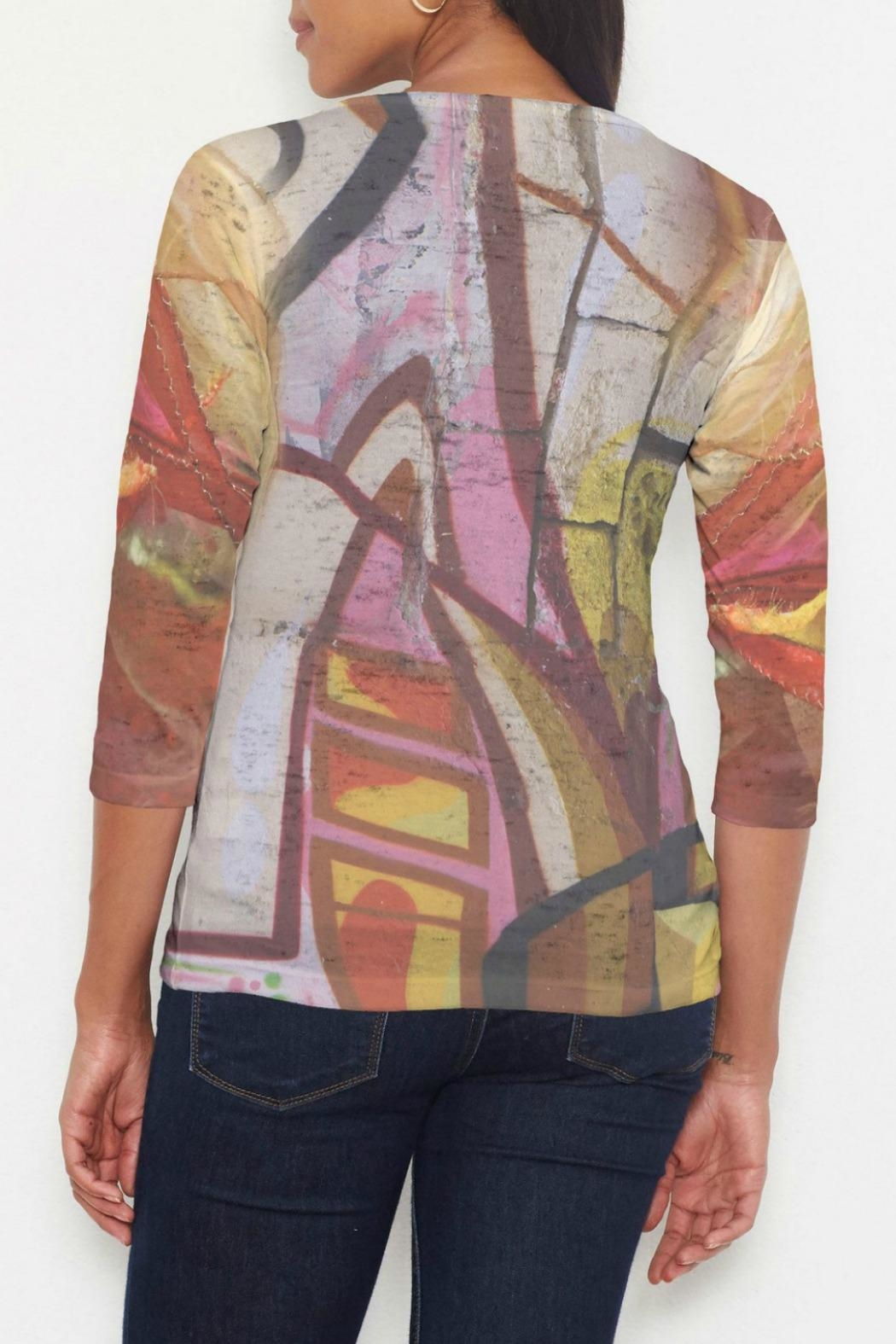 Whimsy Rose Barcelona Sleeve Top - Front Full Image