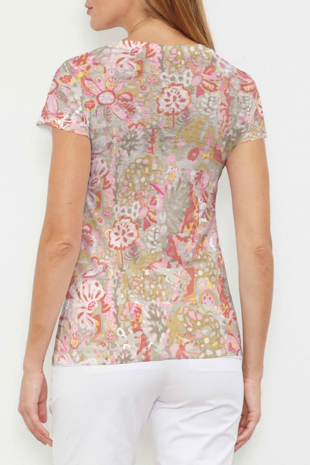 Whimsy Rose Bohemian Pink T - Front Full Image