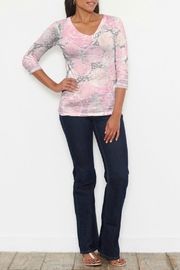 Whimsy Rose Corsage Pink Top - Product Mini Image