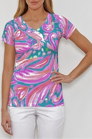 Whimsy Rose Fiona Pink Tee - Product Mini Image