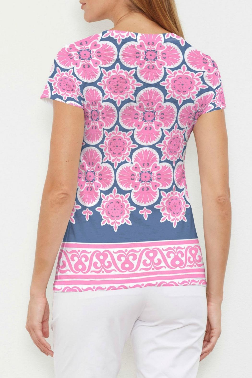 Whimsy Rose Isabella Pink Top - Front Full Image