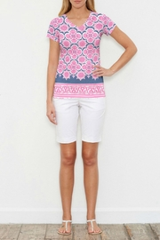 Whimsy Rose Isabella Pink Top - Front cropped