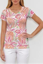 Whimsy Rose Pineapple Coral Tee - Product Mini Image