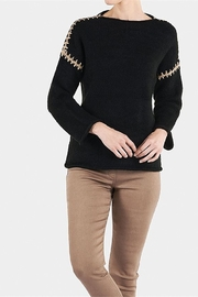 Coco + Carmen WHIPSTITCH SHOULDER SWEATER - Product Mini Image