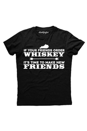 Hashtag Tees Whiskey Friends Tee - Product Mini Image