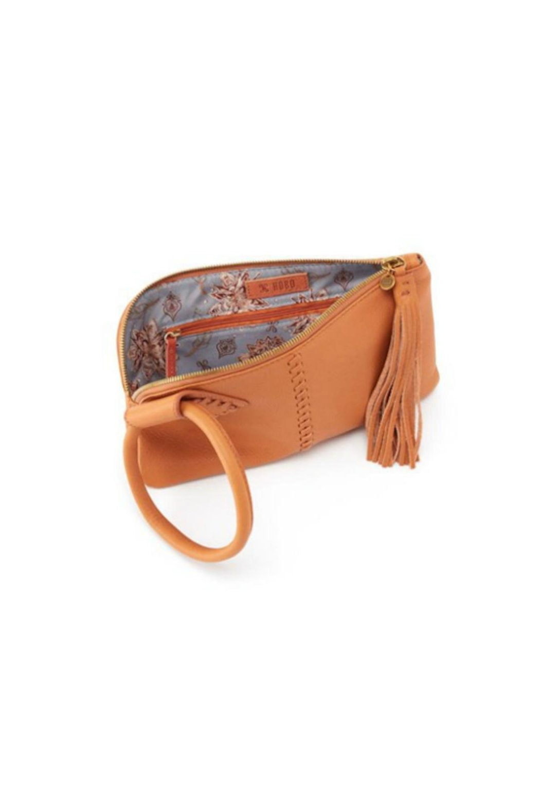 Hobo Whiskey Sable Wristlet - Front Full Image