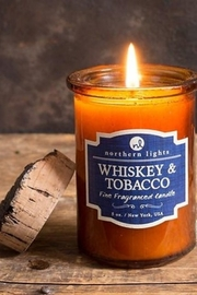Northern Lights Whiskey & Tobacco Candle - Product Mini Image