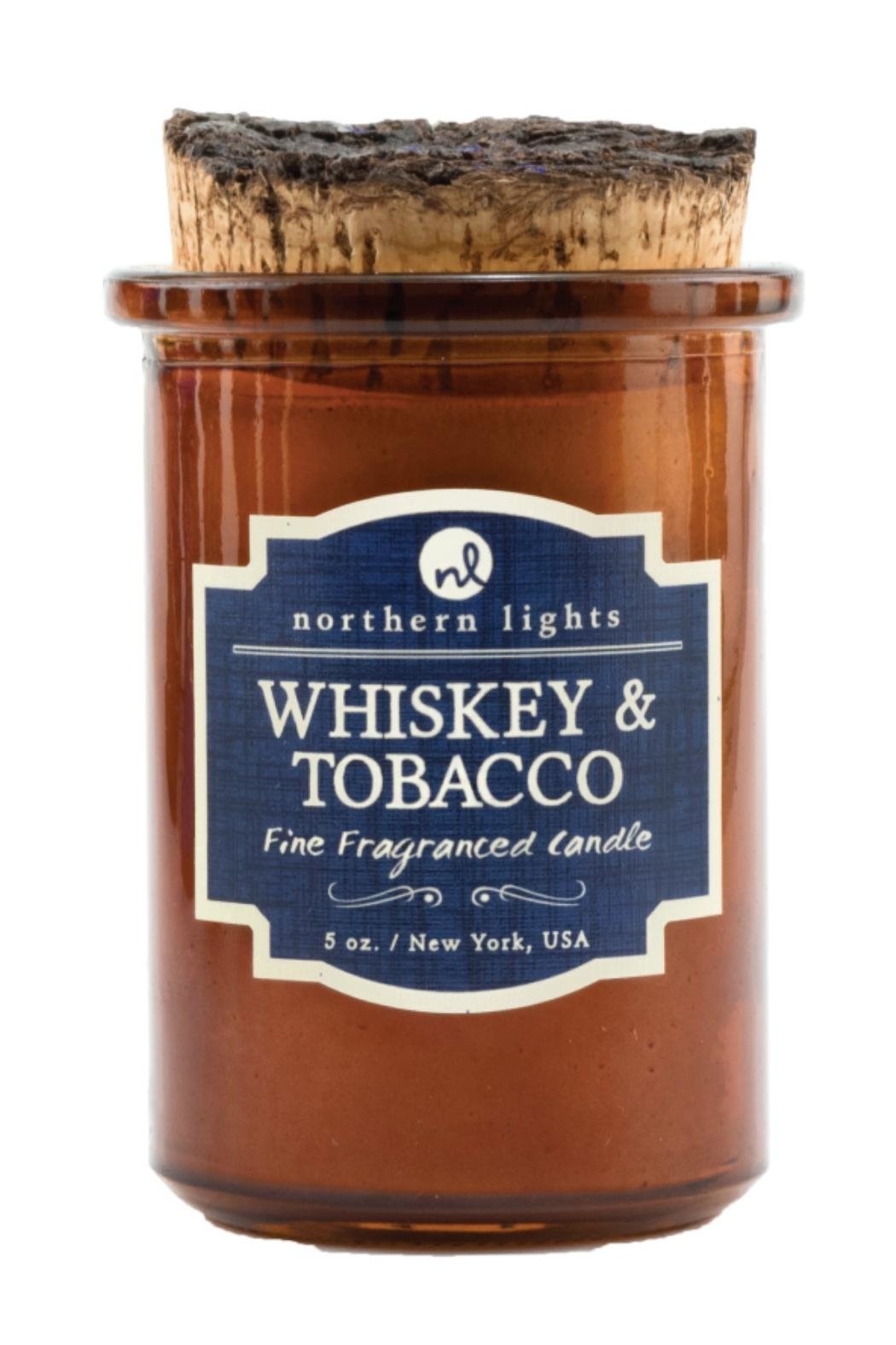 Northern Lights Whiskey Tobacco Candle - Main Image