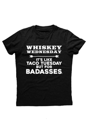 Hashtag Tees Whiskey Wednesday Tee - Front cropped
