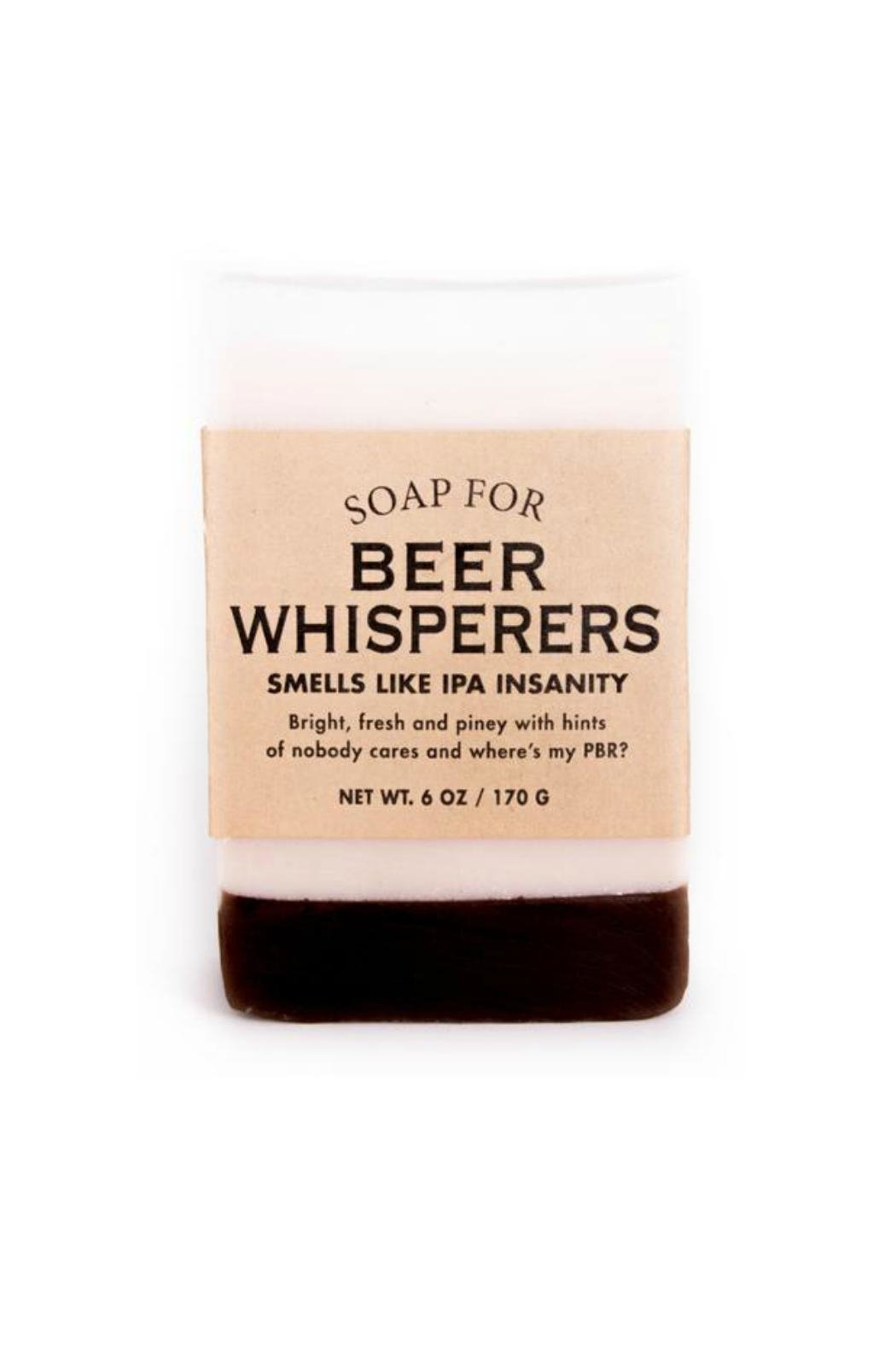 WHISKEY RIVER SOAP CO. Beer Whisperers Soap - Main Image
